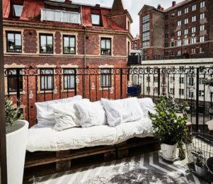 Inreda liten balkong tips
